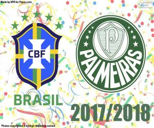 Palmeiras, Brazilian champion 2018 puzzle