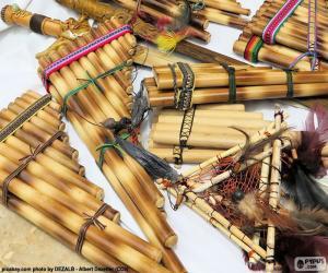 Pan flutes puzzle