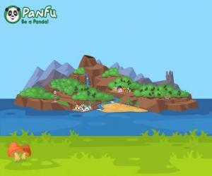 Panfu island puzzle