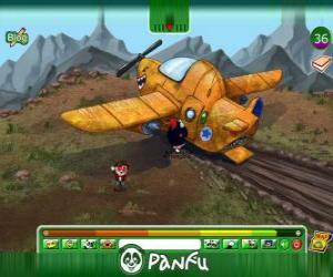 Panfu plane crash puzzle