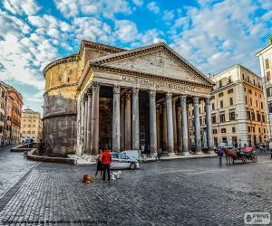 Pantheon, Rome puzzle