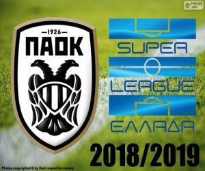PAOK, champion 2018-2019 puzzle