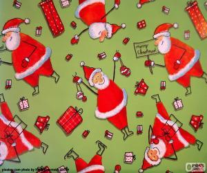 Paper of Santa Claus puzzle