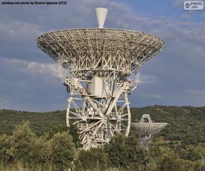 Parabolic antenna puzzle