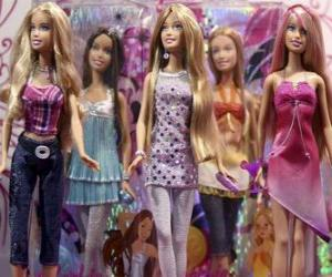 Parade of Barbies puzzle