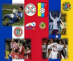 Paraguay - Venezuela, semi-finals, Copa América Argentina 2011 puzzle