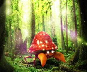 Parasect - Bug Grass type Pokémon puzzle