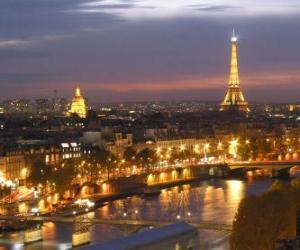 Paris, France puzzle