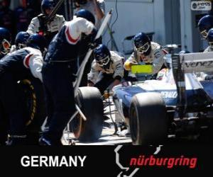 Pastor Maldonado - Williams - Nürburgring, 2013 puzzle