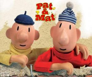 Pat and Mat, the funniest handymen puzzle