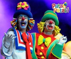 Patati and Patatá puzzle