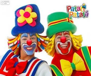 Patati Patatá the clowns puzzle