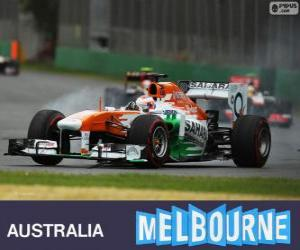 Paul di Resta - Force India - Melbourne 2013 puzzle