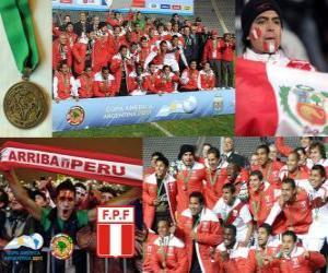 Peru, Copa America 2011 3rd place puzzle