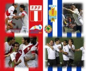 Peru - Uruguay, semi-finals, Copa América Argentina 2011 puzzle