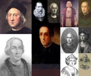 Photos of Christopher Columbus was the admiral in command of the expedition that came to America in 1492 puzzle