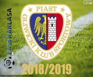 Piast Gliwice, champion 2018-2019 puzzle