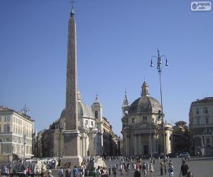Piazza del Popolo, Rome puzzle