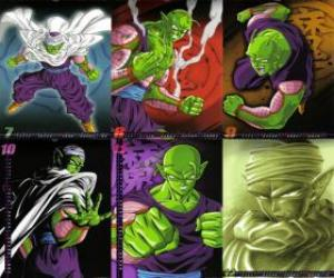Piccolo Piccolo monster Daimao son, born to take revenge on Goku. It comes from the planet Namek. It is the first teacher of Son Gohan. puzzle