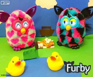 Picnic Furby puzzle
