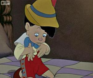 Pinocchio surprised to see there is a real boy puzzle
