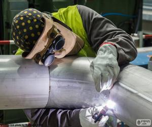 Pipe welder puzzle