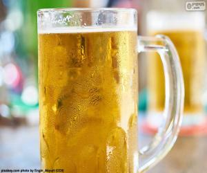 Pitcher of beer puzzle