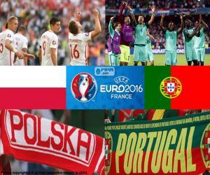 PL-PT, quarter-final Euro 2016 puzzle