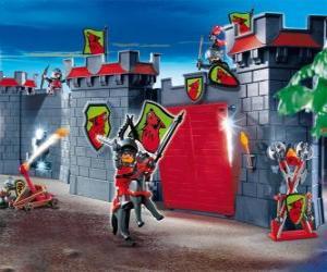 Playmobil Castle puzzle