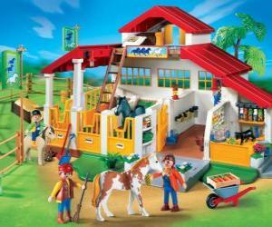 Playmobil farm puzzle