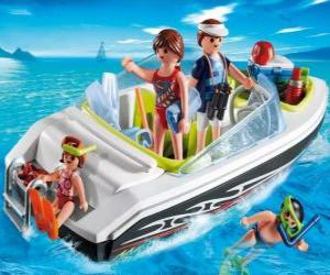 Playmobil Motorboat puzzle
