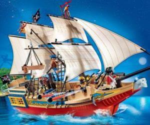 Playmobil pirate ship puzzle