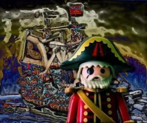 Playmobil Pirate puzzle