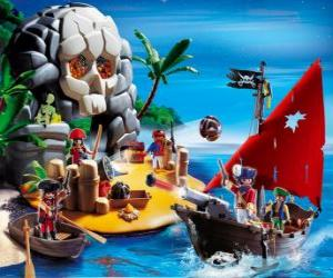 Playmobil Pirates Scene puzzle