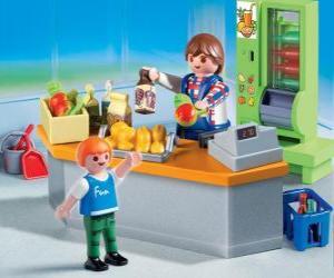 Playmobil shop puzzle