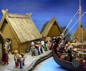 Playmobil Viking Village puzzle