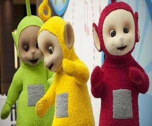 Po, Laa-Laa and Dipsy puzzle