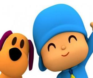 Pocoyo and Loula puzzle
