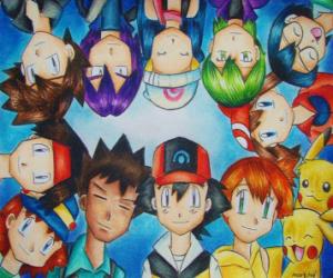 Pokémon Characters puzzle
