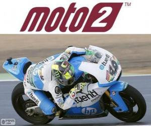 Pol Espargaró, 2013 world champion of Moto2 puzzle