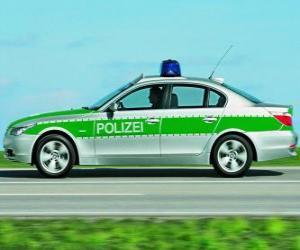 police Car - BMW E60 - puzzle
