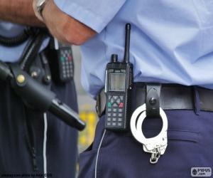 Police equipment puzzle