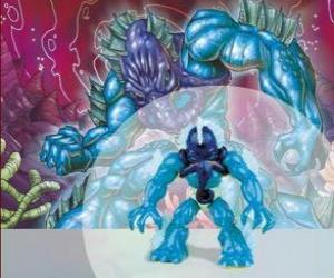 Polypus the lord of the sea (Series 1) (Sea Tribe) (Power 8) puzzle