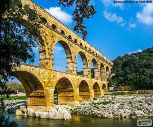 Pont du Gard, France puzzle