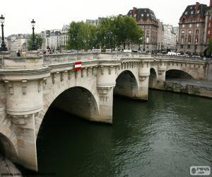 Pont Neuf, Paris puzzle