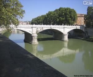 Ponte Giuseppe Mazzini, Rome puzzle