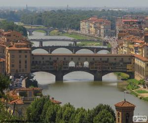 Ponte Vecchio, Florence, Italy puzzle