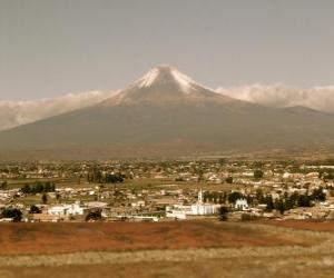 Popocatepetl Mexico puzzle