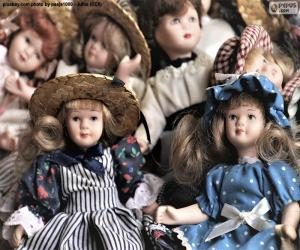 Porcelain dolls puzzle