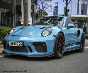 Porsche 911 GT3 RS puzzle